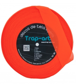 Naranja Fluor Lightweight Fabric Disc