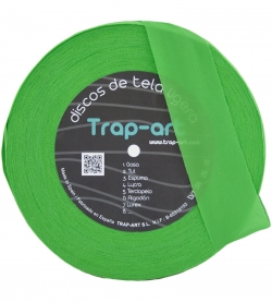 Verde Cesped Sedoso Lightweight Fabric Disc