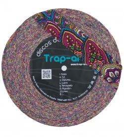 Estampado Multicolor Fluor Lightweight Premium Lycra Fabric Disc