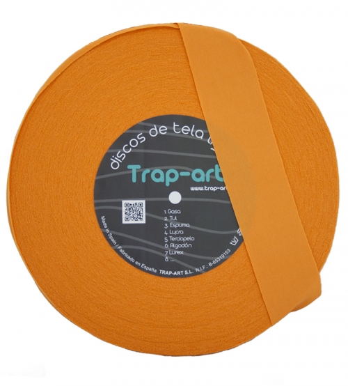 Disco de Tela Ligera XL Color Calabaza