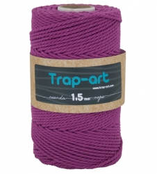 1,5 mm Amaranto Cotton Rope