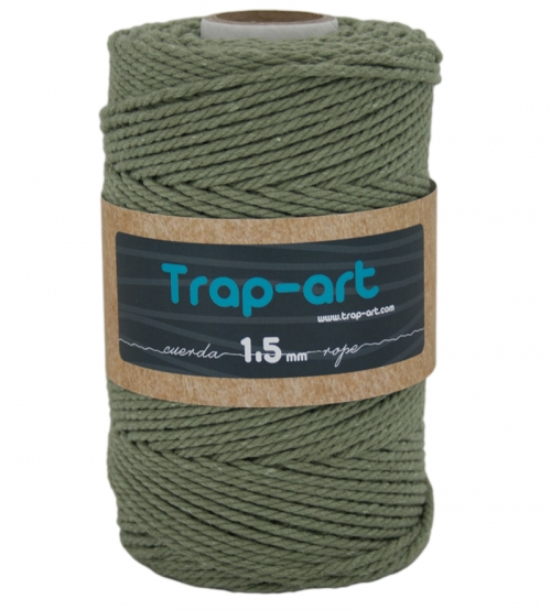 1,5 mm Aguacate Cotton Rope