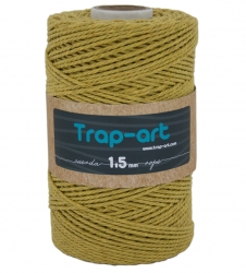 1,5 mm Mostaza Claro Cotton Rope