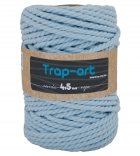 4,5 mm Azul Cielo Cotton Rope