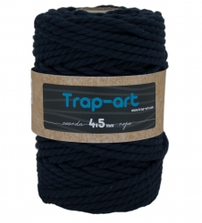 4,5 mm Azul Marino Cotton Rope
