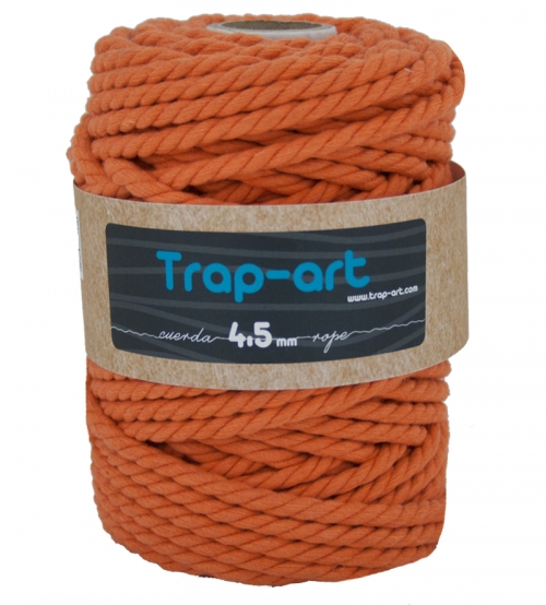 4,5 mm Naranja Cotton Rope