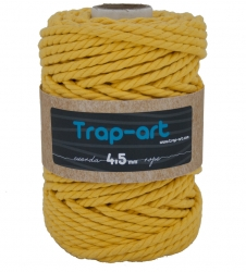 4,5 mm Amarillo Cotton Rope