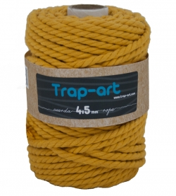 4,5 mm Ocre Cotton Rope