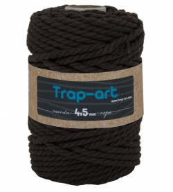 4,5 mm Marron Cotton Rope