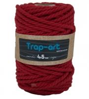 4,5 mm Rojo Cotton Rope