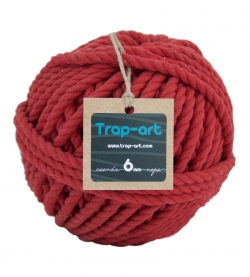 Rojo 6mm Cotton Rope