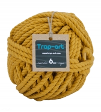 Ocre 6mm Cotton Rope