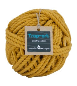 Mostaza 6mm Cotton Rope