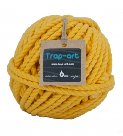 Amarillo 6mm Cotton Rope