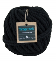 Negro 6mm Cotton Rope