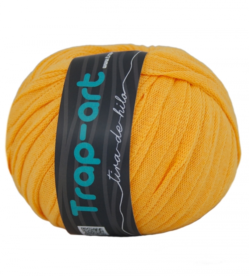 Tape Yarn Color Amarillo Huevo