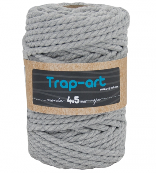 Gris 4,5 mm Cotton Rope