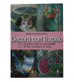 "Libro de Trapillo ""Decorar con trapillo"""