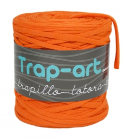 Naranja con Brillo T-Shirt Yarn