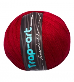Tape Yarn Color Rojo Hermes