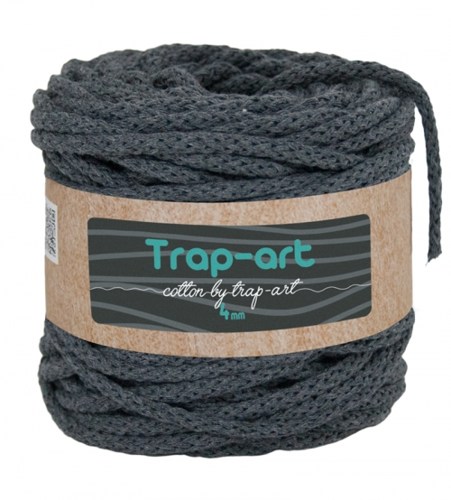 Cotton by Trap-art Color Antracita 4 mm