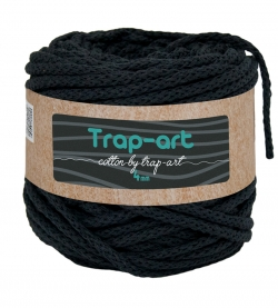 Cotton by Trap-art Color Negro 4 mm