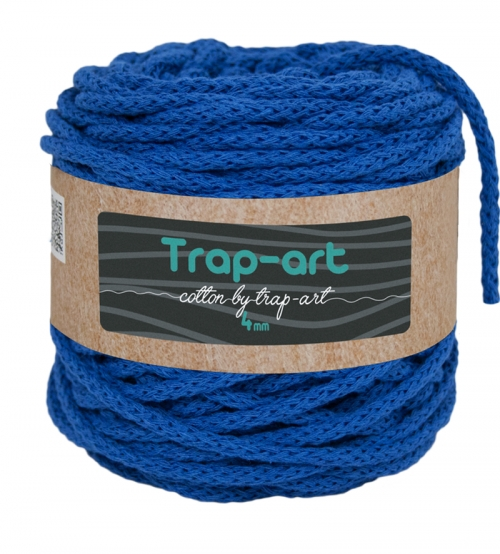Cotton by Trap-art Color Royal 4 mm