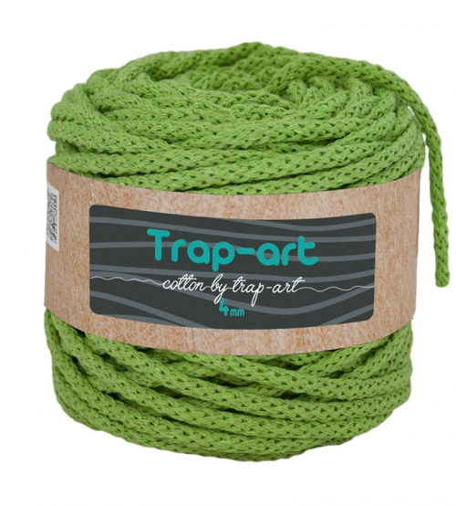 Cotton by Trap-art Color Kiwi 4 mm
