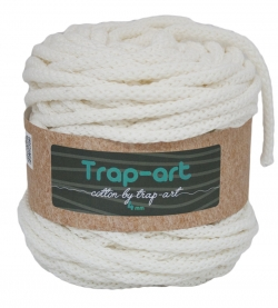 Cotton by Trap-art Color Blanco 4 mm
