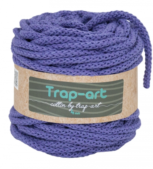 Cotton by Trap-art Color Lila 4 mm