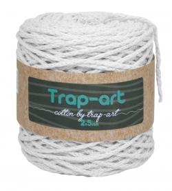 Cotton by Trap-art Color Blanco 2,5 mm